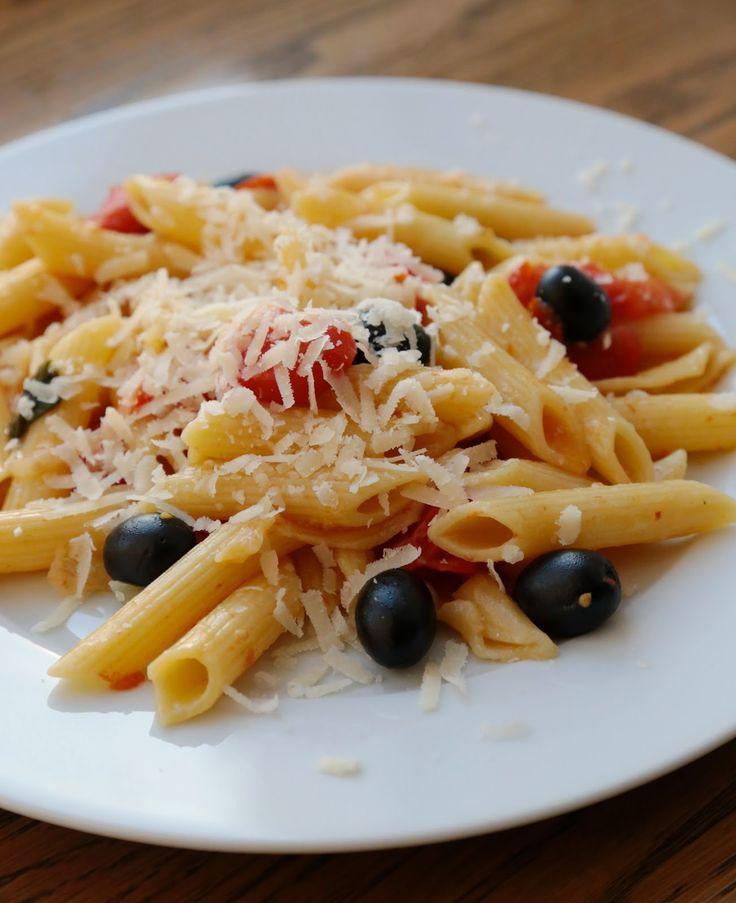 One pan pasta , une recette super simple , super facile et surtout super bonne | On Dine chez Nanou