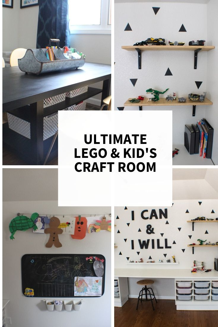 Super Awesome Possum Lego Room And Kid S Craft Room Ikea Hack