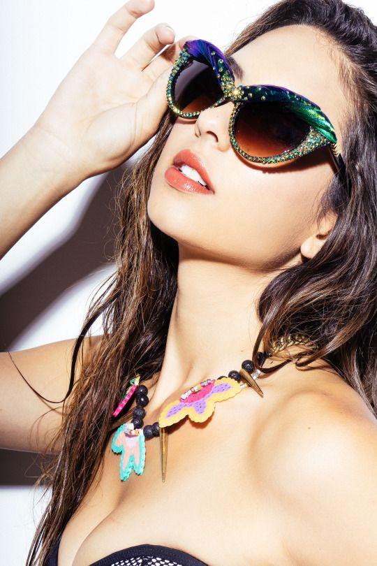 Show-stopping cat eye sunglasses!