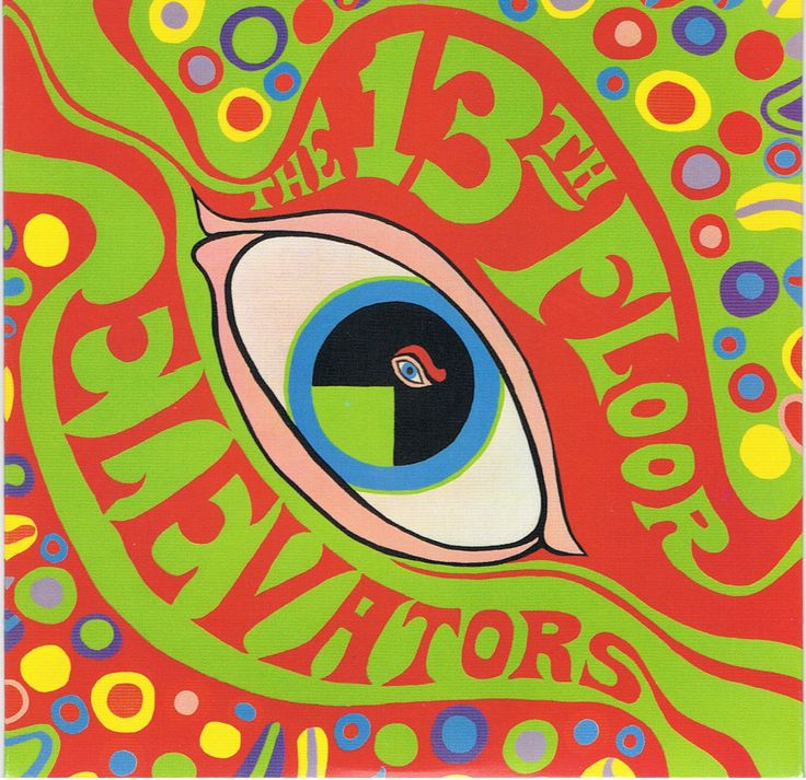 "The 13th Floor Elevators, ""The Psychedelic Sounds of the 13th Floor Elevators"", 1966, album"