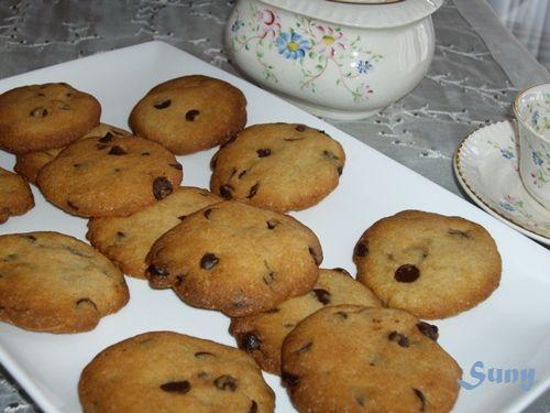 Creo que a todo el mundo le gusta una galleta con pepitas de chocolate. Buenísimas!!!  http://rositaysunyolivasenlacocina.blogspot.com.es/2011/04/galletas-con-gotas-de-chocolate.html
