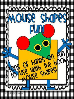 Little Miss Kindergarten - Lessons from the Little Red Schoolhouse!: Mouse Shapes Fun!