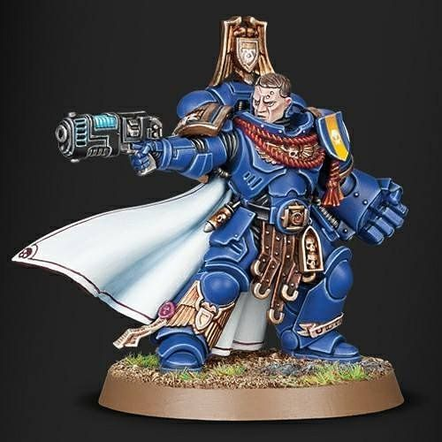 Upcoming Limited Edition Primaris Captain, available at Games Workshop stores on July 8th - either f - kyle.haydon