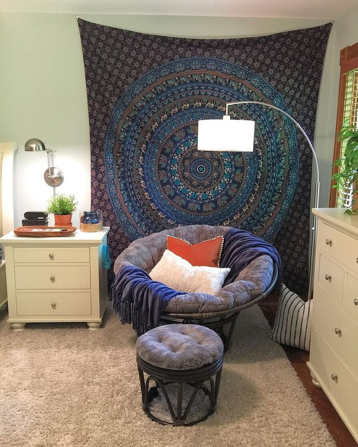 Queen Size Mandala Tapestry via BOHOSHOP9. Click on the image to see more!
