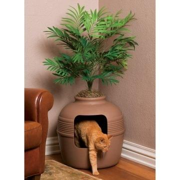 Hidden Cat Litter Box.