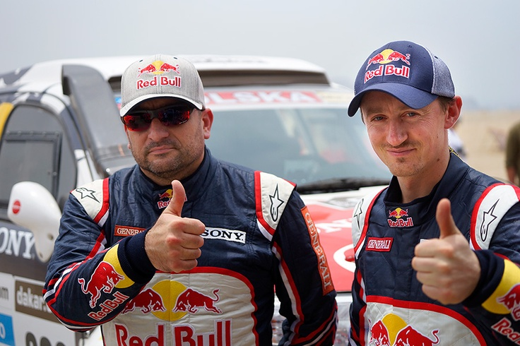 Rajd Dakar '13 - Toyota Hilux, Adam Małysz