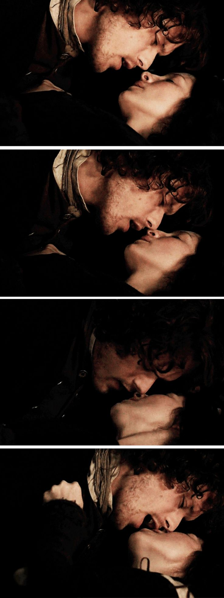 No, mo nighean donn. I want to watch you. [GIFSET] 1x11 The Devil's Mark #Outlander