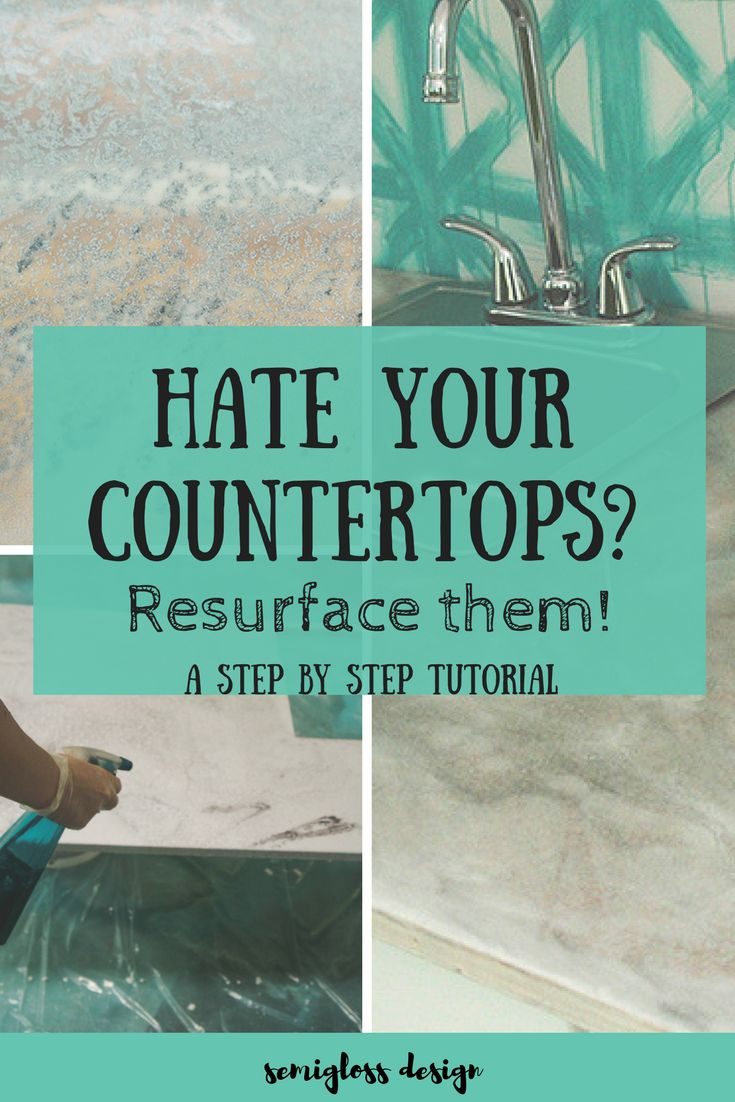 update countertops | resurface countertops | epoxy countertops | DIY countertops | redo countertops | inexpensive countertops | countertop ideas | affordable countertops | countertop upgrades | unique countertops