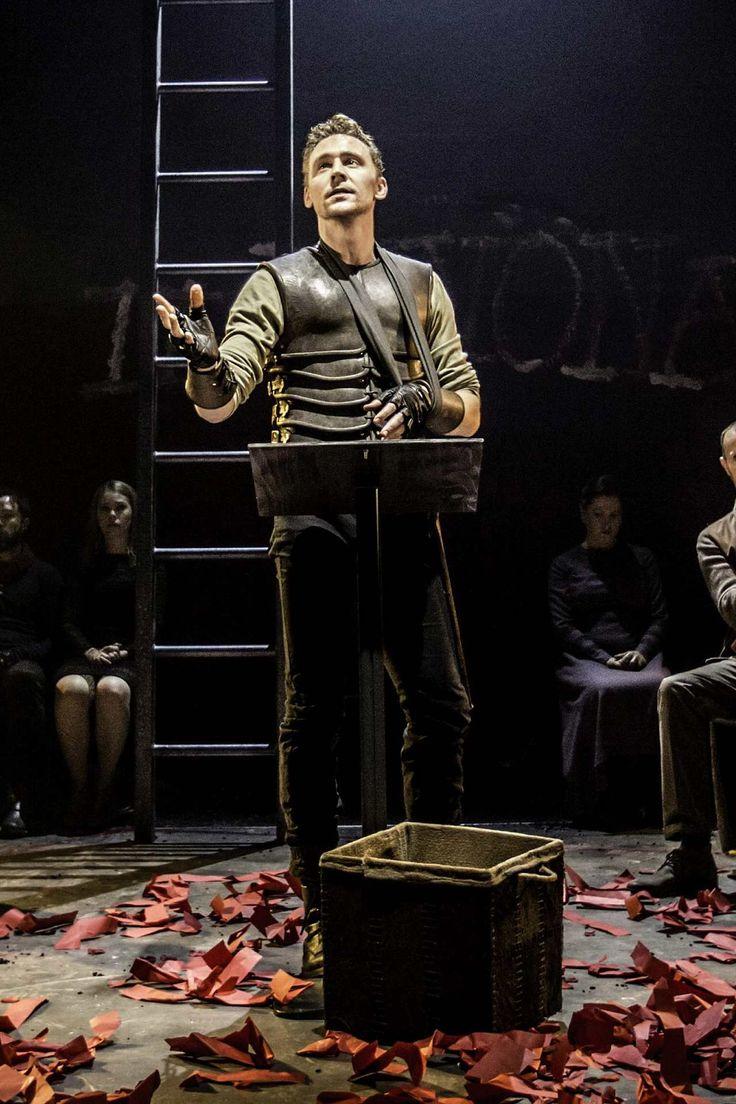 #TomHiddleston as #Coriolanus