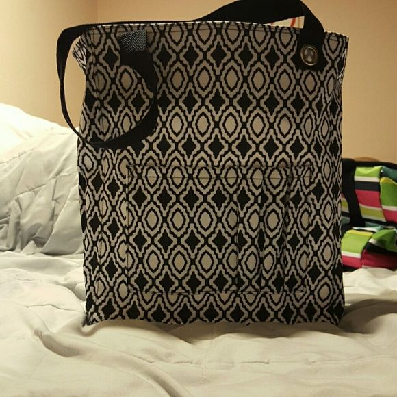 Thirty one tall organizing tote Thirty one tall organizing tote navy perfect pendent Bags Totes