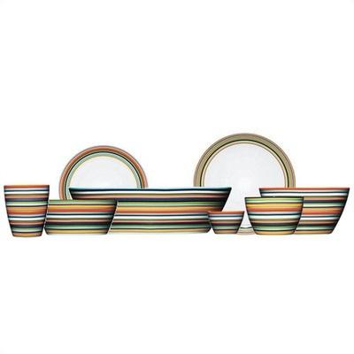 iittala Origo Orange Dinnerware Set