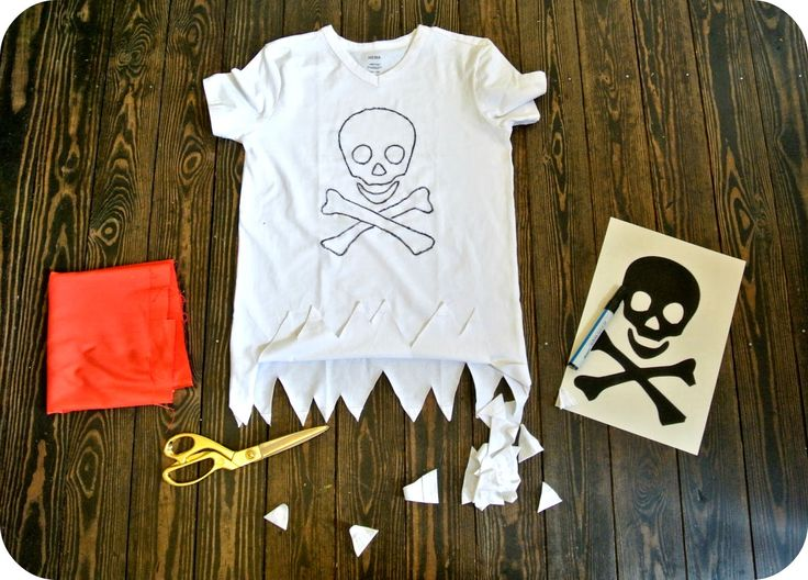 pirate shirt diy