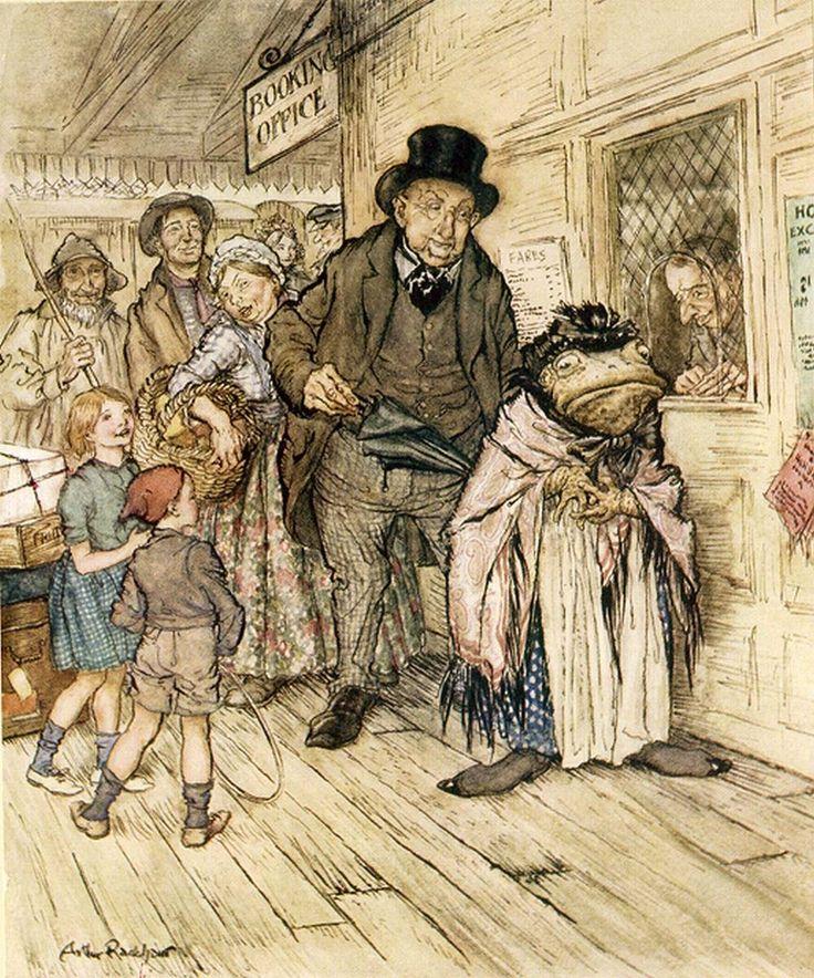 Arthur rackham illustrators illustration