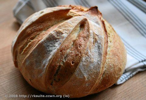 5-Minuten-Brot oder gar Brötchen)