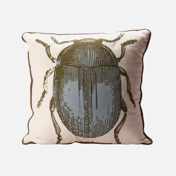 Linen House - 40x40cm Nile Express Cushion – Dusty Blue