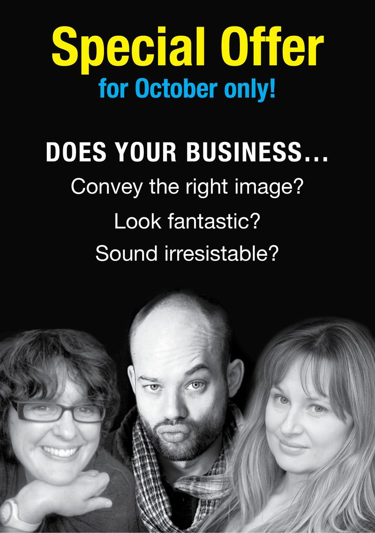 October promotion front