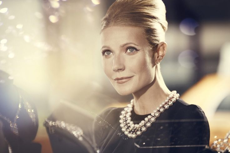 GWYNETH PALTROW Age: 43  Profession: Actress  Beautiful, stunning, tall, adorable, funny, talented, etc. Yes, that about sums it up when describing Gwyneth. But it's all in the genes, handed down by parents Blythe Danner and Bruce Paltrow. Her father, who died a few years ago, was a talented film director. Meanwhile her mom was a successful actress.
