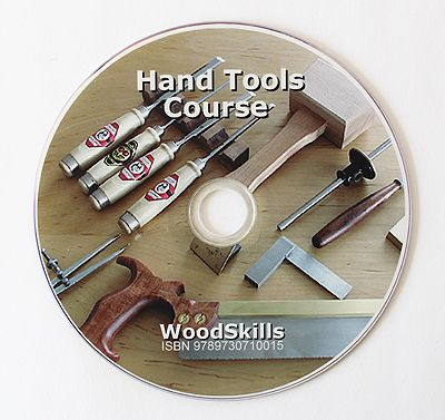 Learn hand tool skills with the WoodSkills Hand Tools Course DVD
