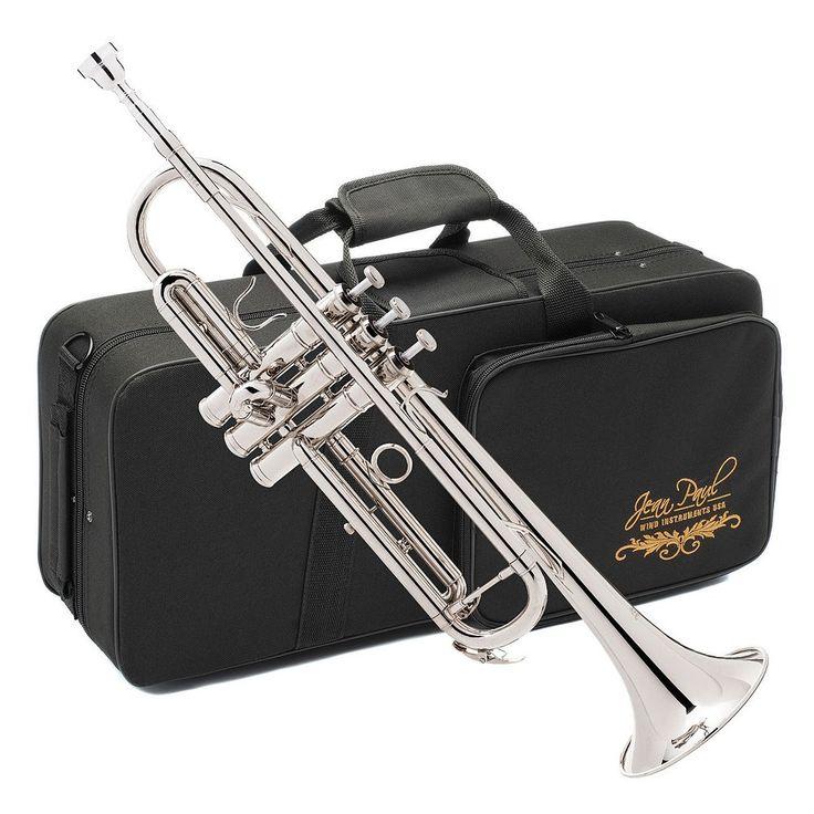Jean Paul Student Trumpet, Case & Maintenance Kit, Multicolor