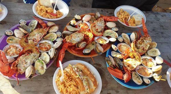Delicious Summer Eats & Treats // Image: La terrasse à Steve, Lamèque, New Brunswick Canada