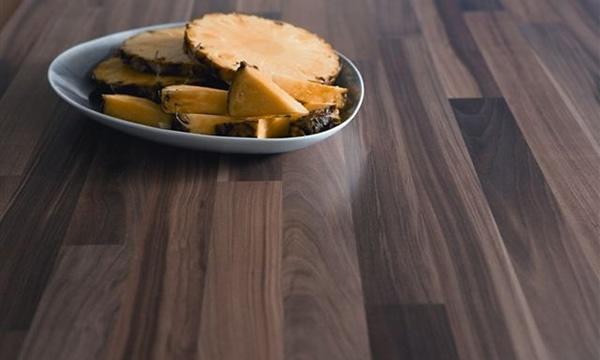 Laminate Worktop in walnut wood