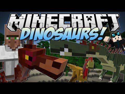 ▶ Minecraft | DINOSAURS! (Enter the Jurassic Dimension!) | Mod Showcase - YouTube