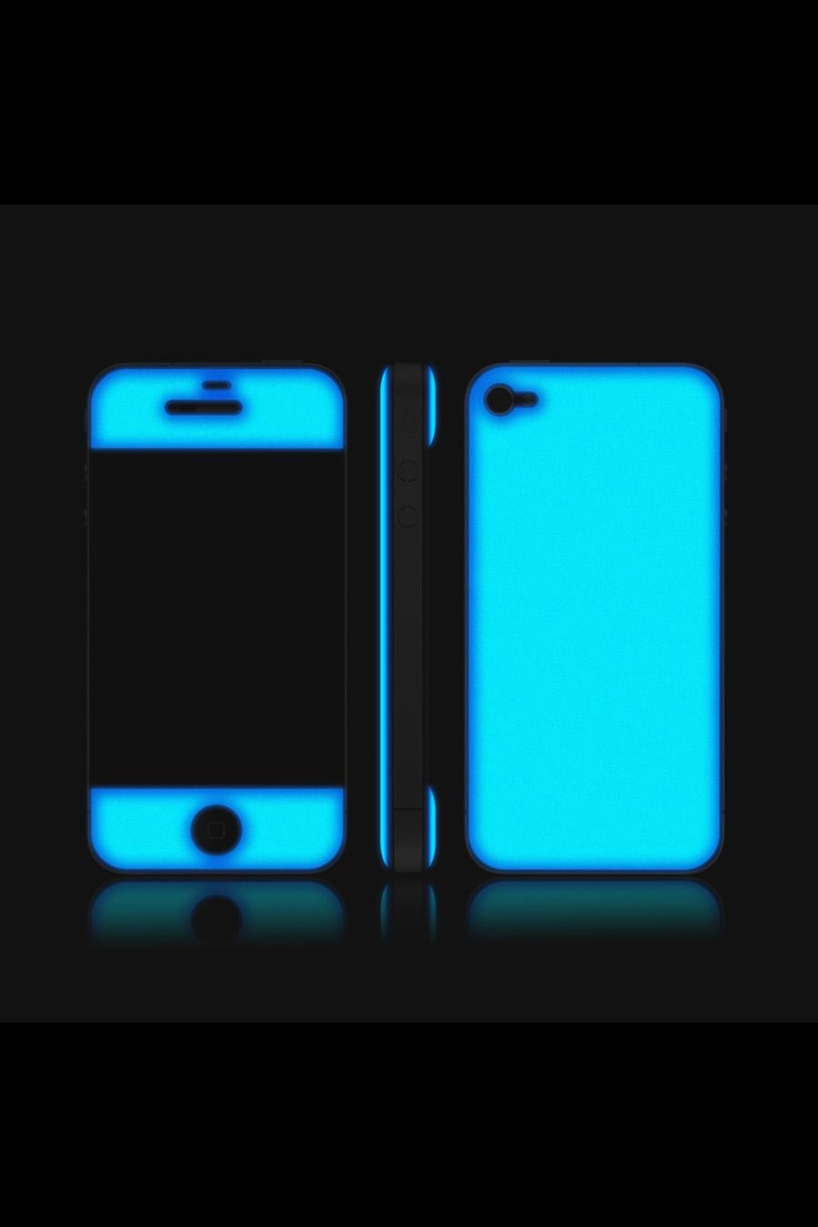 Glow in the dark iphone skinIphone Cases, All Black, Iphone Skin, Glow Gel, Iphone4S 4, Phones Cases, Glow In The Dark Gel, Dark Skin, Dark Iphone