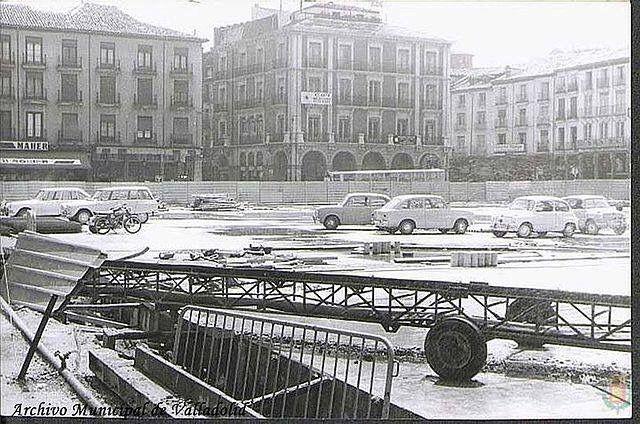 Obras parking Plaza Mayor