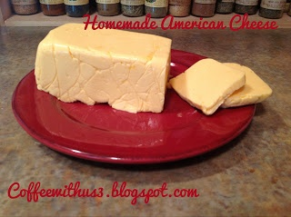 Coffee With Us 3: Goal for May: Homemade American Cheese (Velveeta) #recipes #cheese