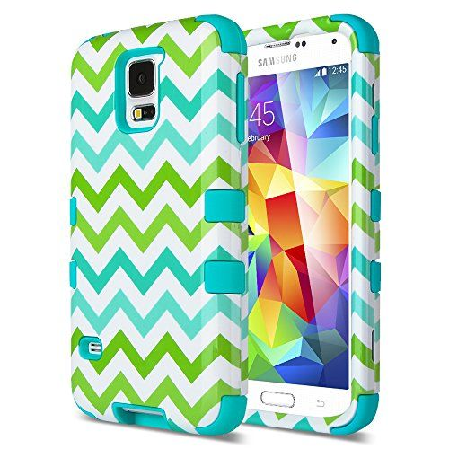 Galaxy S5 Case, ULAK Samsung Galaxy S5 Case, Unique Colorful Waves Hybrid High Impact Case Shockproof Cover for Galaxy S5 / Galaxy SV / Galaxy S V (2014) with Screen Protector and Stylus (Blue) ULAK http://www.amazon.com/dp/B00NW4IEUO/ref=cm_sw_r_pi_dp_pNSCub0HS3CH3