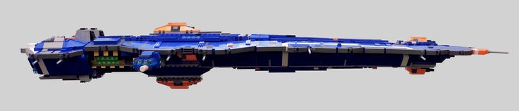 https://flic.kr/p/yZfBXY | Hiigaran Battlecruiser Profile | Built to counter the encroaching Vaygr threat and protect the Mothership, the Battlecruiser was the largest combat vessel produced by the Hiigaran navy.  The primary weapons of the Battlecruiser are Heavy Ion Cannon turrets mounted on the dorsal and ventral sides of the hull.  These cannons are capable of vaporizing frigate sized vessels in a single blast.  Additional armaments include Arbiter Kinetic Burst Cannons capable of…