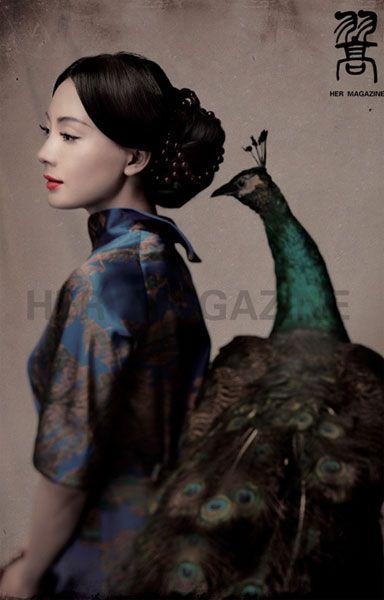 Chen Shu's qipao obsession