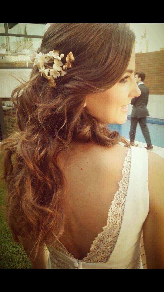 Peinado de boda natural