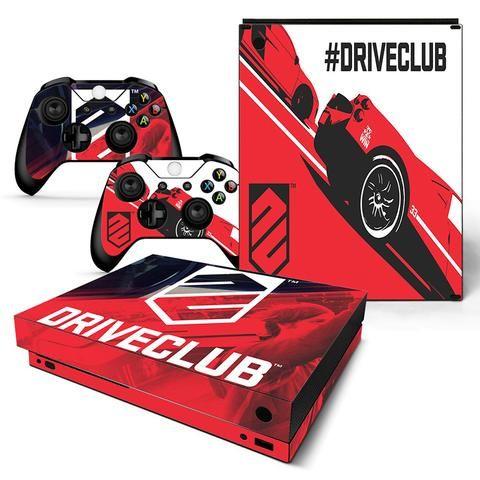 Driveclub Red & White Logo #33 Sports Car Xbox One X Skin #decals #xboxonex #driveclub