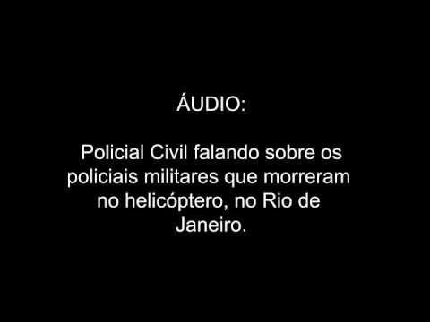 Policial Civil falando sobre os policiais militares que morreram no heli...
