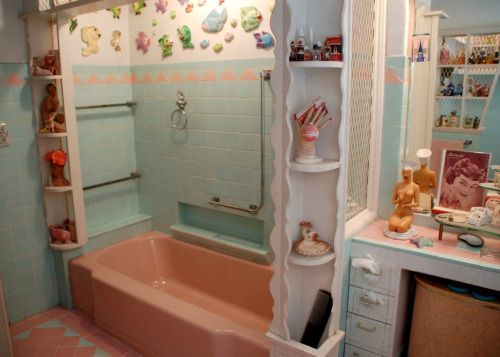 Las 25 mejores ideas sobre Badezimmer 50er en Pinterest - badezimmer 50er jahre