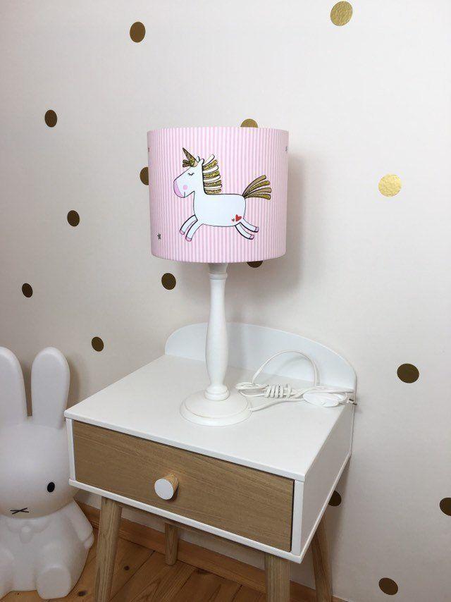 Tischlampe Kinder Tischlampe Kinderzimmer Einhorn Geburtstagsgeschenke Fur Kinder Kinderlampe Lampenschirm Geschenke Zur Geburt Tischlampe Kinderzimmer Kinder Lampen Tischlampen