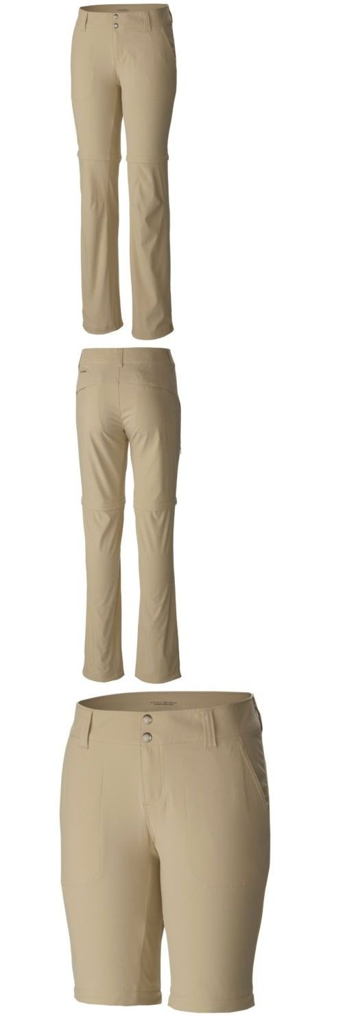 Pants and Shorts 181367: New Women S Columbia Sportswear Saturday Trail Ii Convertible Pant Size 8 Short -> BUY IT NOW ONLY: $32.38 on eBay!