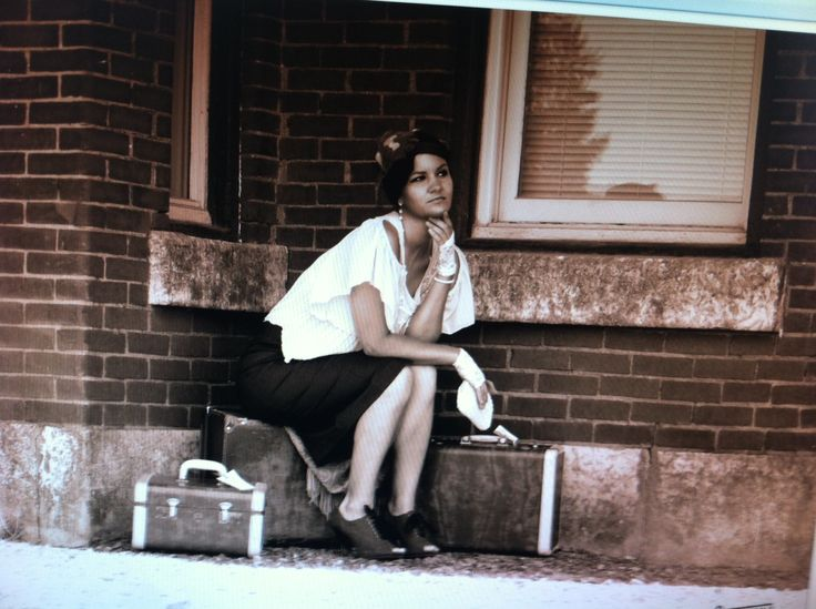 Train station photo shoot - old town photography