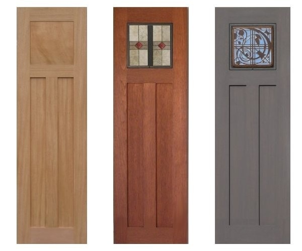 Custom arts crafts style shutters by shutterstile llc for Mission style shutters