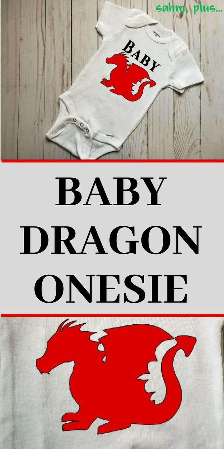 Baby Clothing with Dragon Funny Baby Bodysuit