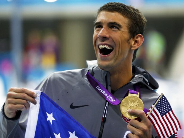 Michael Phelps. Follow @PRNtertainment on Twitter!