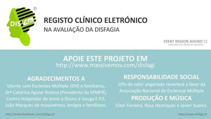 CONCURSO DE IDEIAS   ONTEM FOI UM DIA MUITO ESPECIAL! Foi o 1º de 40 dias de campanha...  Receba recompensas e junte-se a nós! http://www.massivemov.com/disfagi  Vamos mostrar ao mundo, o importante papel que a Terapia da Fala tem na área da Disfagia.  Qualquer dúvida sobre como receber as recompensas, entre em contacto com a TF Rosa Henriques, rosahenriq@gmail.com.  CONTAMOS CONSIGO   JUNTOS PODEMOS VENCER O CONCURSO! :D  DISFAGI, SIMPLEXmente a pensar em si!