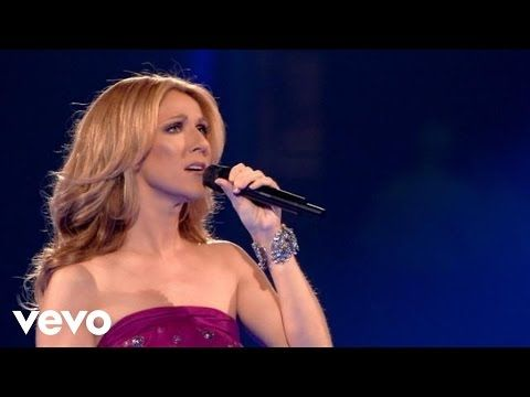 Celine Dion - Alone (in tears, very emotional) - YouTube