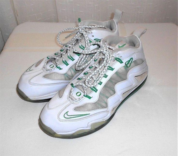 Details about Nike Air Max 360 Diamond Griffey White Green Oregon Ducks 580398 100 Men's 11.5