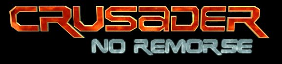 Logo non conservé pour Crusader : No Remorse, mais très similaire à celui qui apparaît à la fin de la scène d'introduction du jeu. Ça reste mon préféré ! ^^