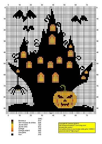 Free Halloween - Le blog de Passionbroderie77