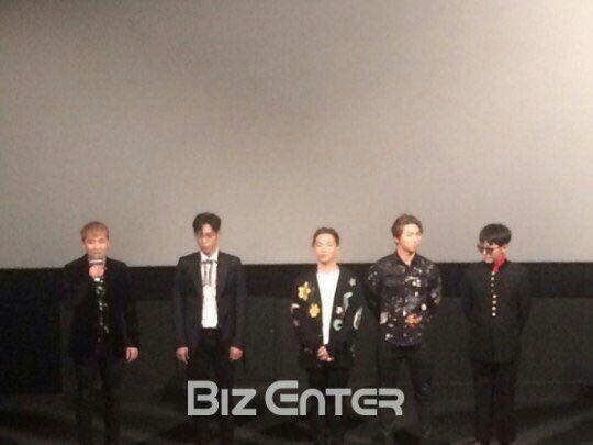 160628 BIGBANG10 THE MOVIE - 'BIGBANG MADE' MOVIE Stage Greeting