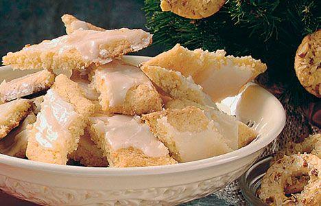 Fedtebrød - gode småkager! (Dem uden svinefedt)