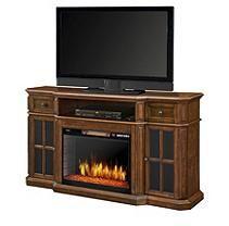 "Muskoka Sinclair 60"" Media Fireplace w/LED Lights and Bluetooth"